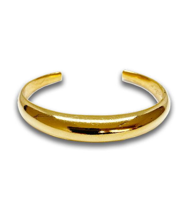 Gold Dome Cuff bracelet